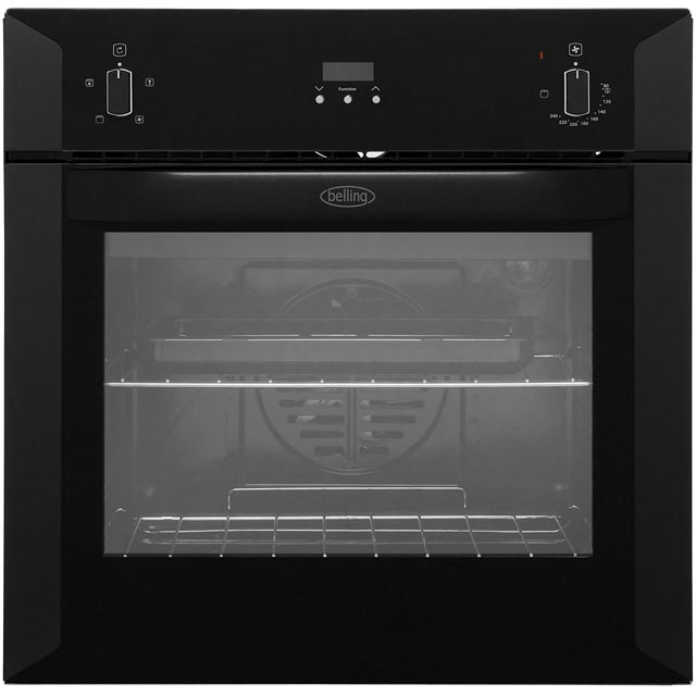 Belling BI60FP Built In Electric Single Oven - Black - A Rated