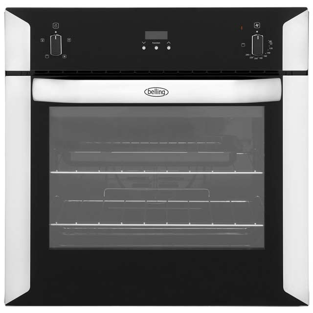 Belling BI60FP Built In Electric Single Oven - Stainless Steel - A Rated - BI60FP_SS - 1