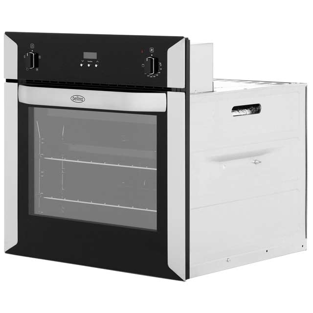 Belling BI60FP Built In Electric Single Oven - Stainless Steel - BI60FP_SS - 3