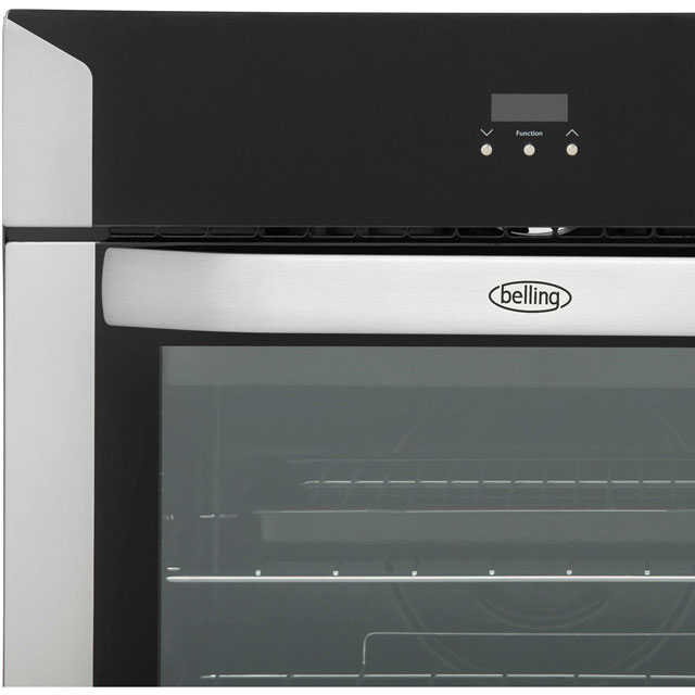 Belling BI60G Built In Gas Single Oven - Stainless Steel - BI60G_SS - 3