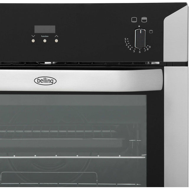Belling BI60G Built In Gas Single Oven - Stainless Steel - BI60G_SS - 4