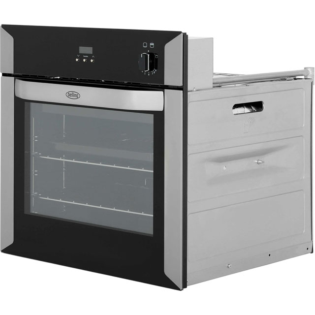 Belling BI60G Built In Gas Single Oven - Stainless Steel - BI60G_SS - 5
