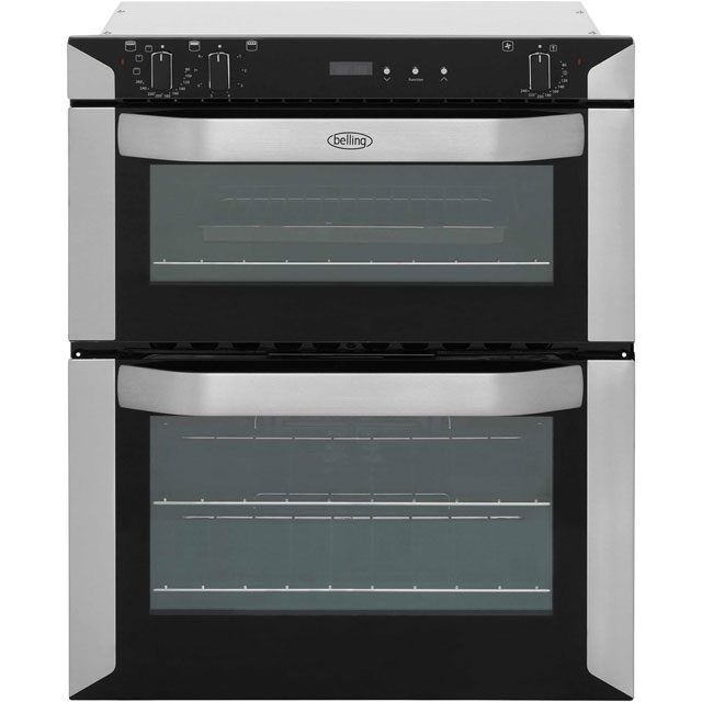 Belling Built Under Double Oven - Stainless Steel - A Rated