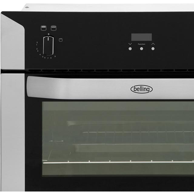 Belling BI90G Built In Double Oven - Stainless Steel - BI90G_SS - 5
