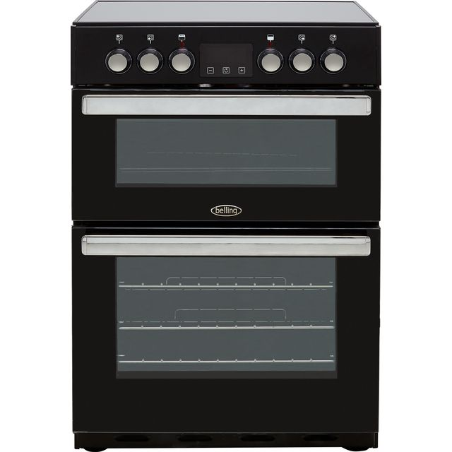 Belling Cookcentre 60E Electric Cooker - Black - Cookcentre 60E_BK - 1