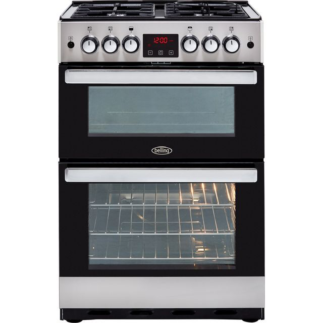Belling Cookcentre 60G Gas Cooker - Stainless Steel - Cookcentre 60G_SS - 1