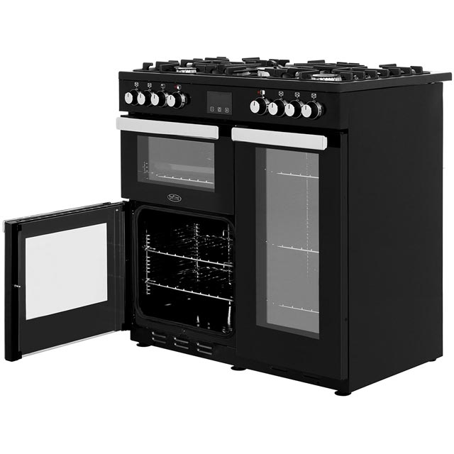 Belling Cookcentre90DFT 90cm Dual Fuel Range Cooker - Stainless Steel - Cookcentre90DFT_SS - 3
