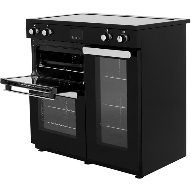 Belling Cookcentre90Ei 90cm Electric Range Cooker - Black - Cookcentre90Ei_BK - 2