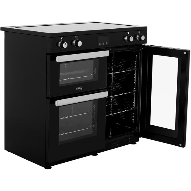 Belling Cookcentre90Ei 90cm Electric Range Cooker - Black - Cookcentre90Ei_BK - 4