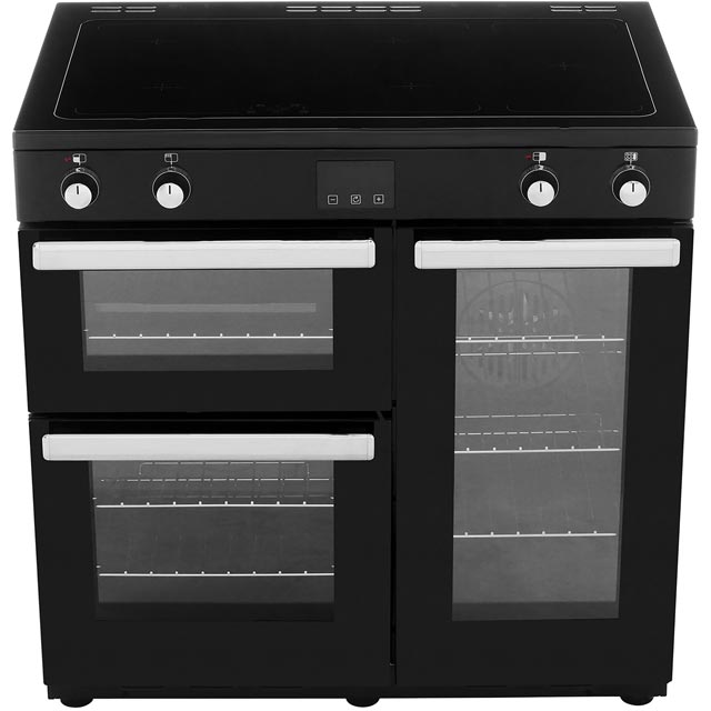 Belling Cookcentre90Ei 90cm Electric Range Cooker - Black - Cookcentre90Ei_BK - 5