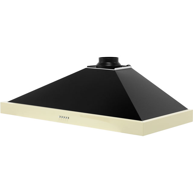 Belling FARMHOUSE 110 CHIM 110 cm Chimney Cooker Hood - Black - FARMHOUSE 110 CHIM_BK - 4