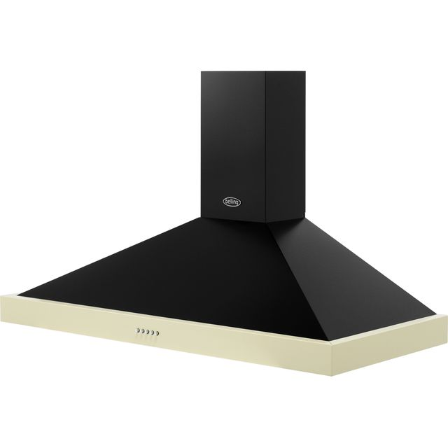 Belling FARMHOUSE 110 CHIM 110 cm Chimney Cooker Hood - Black - FARMHOUSE 110 CHIM_BK - 5