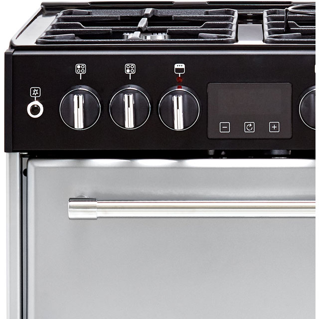 Belling Farmhouse60DF Dual Fuel Cooker - Silver - Farmhouse60DF_SI - 2