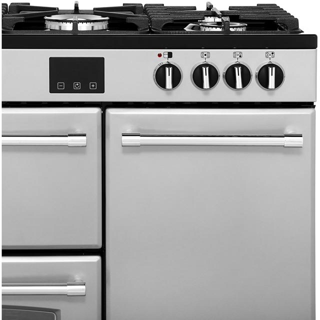 Belling Farmhouse90DFT 90cm Dual Fuel Range Cooker - Black - Farmhouse90DFT_BK - 3