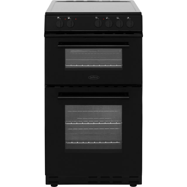Belling FS50EDOC Electric Cooker - Black - FS50EDOC_BK - 1