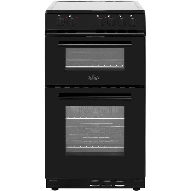 Belling Electric Cooker with Ceramic Hob - Black