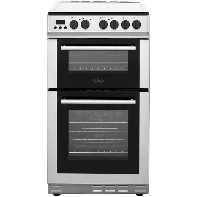 Belling FS50EDOPC 50cm Electric Cooker with Ceramic Hob - Stainless Steel - FS50EDOPC_SS - 1