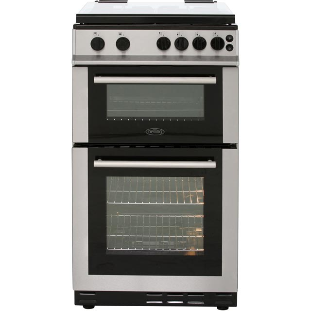 Belling 50cm Gas Cooker - Stainless Steel - A Rated