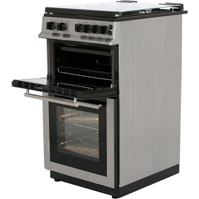 Belling FS50GTCL Gas Cooker - Stainless Steel - FS50GTCL_SS - 2