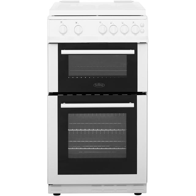 Belling Gas Cooker - White - A Rated