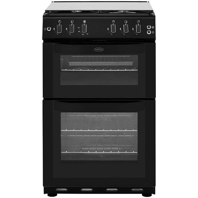 Belling FSG55TCF Gas Cooker with Gas Grill - Black - A Rated