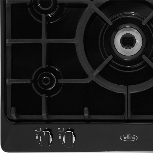 Belling GHU70GCMK2STA Built In Gas Hob - Stainless Steel - GHU70GCMK2STA_SS - 2