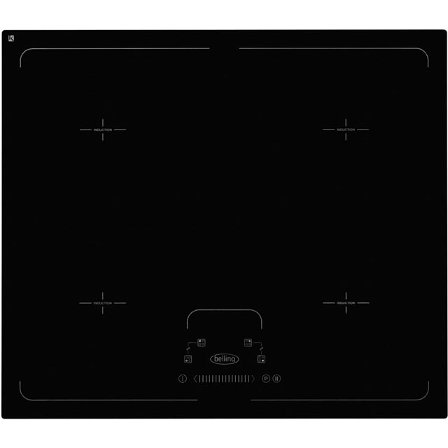 Belling IHF64T 59cm Induction Hob - Black - IHF64T_BK - 1