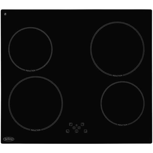Belling IHT613 59cm Induction Hob - Black - IHT613_BK - 1