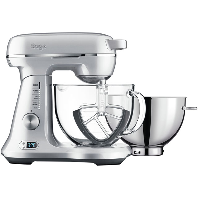 Sage By Heston Blumenthal The Bakery Boss BEM825BAL Stand Mixer with 4.7 Litre Bowl - Silver