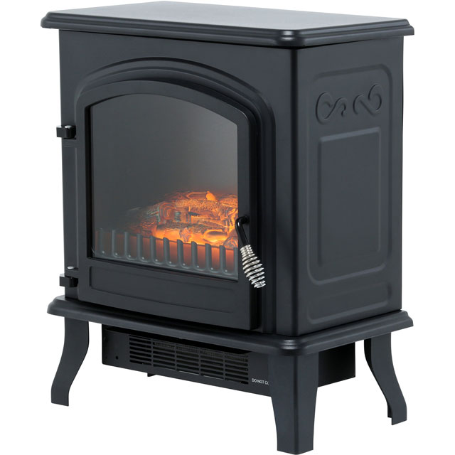 BeModern Colman 19356 Log Effect Electric Stove - Black - 19356_BK - 1