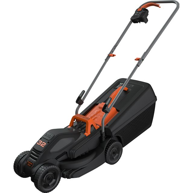 Black + Decker BEMW351-GB Electric Lawnmower - BEMW351-GB_BKOR - 1