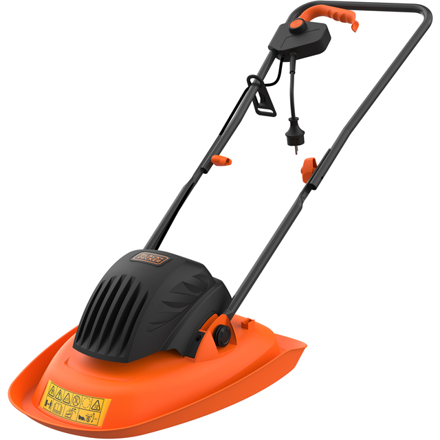 Black + Decker BEMWH551-GB Lawnmowers in Black / Orange