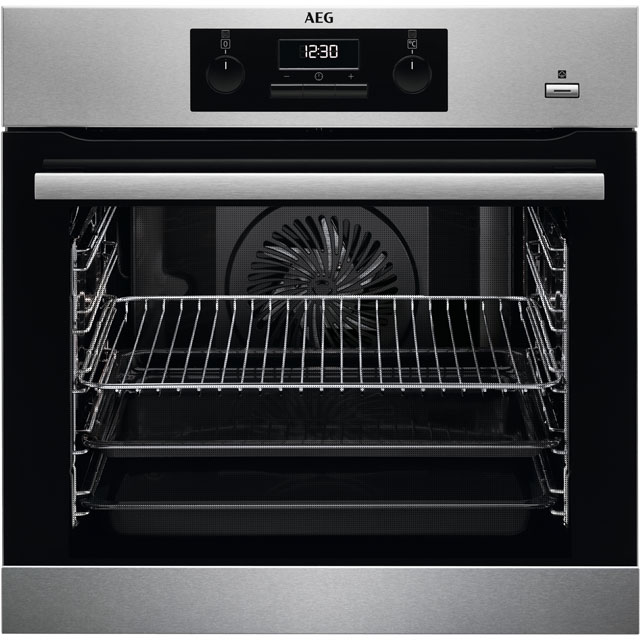 AEG BES351010M Integrated Single Oven in Stainless Steel