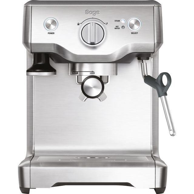 Sage The Duo Temp Pro BES810BSSUK Espresso Coffee Machine - Stainless Steel - BES810BSSUK_SS - 1