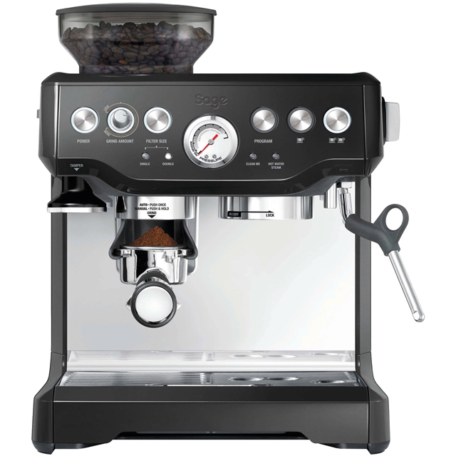 Sage The Barista Express BES875BKS Espresso Coffee Machine - Black - BES875BKS_BK - 1