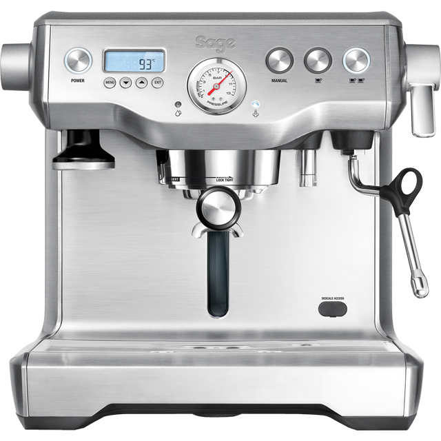 Sage The Dual Boiler BES920UK Espresso Coffee Machine - Stainless Steel - BES920UK_SS - 1