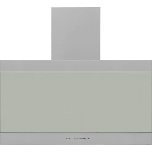 BEST Latina HOOD-BE-LA-90-SS 90 cm Chimney Cooker Hood - Stainless Steel - C Rated - HOOD-BE-LA-90-SS_SS - 1