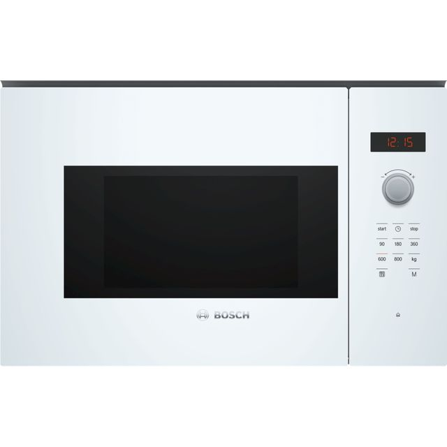 Bosch Serie 4 BFL523MW0B Built In Microwave - White - BFL523MW0B_WH - 1