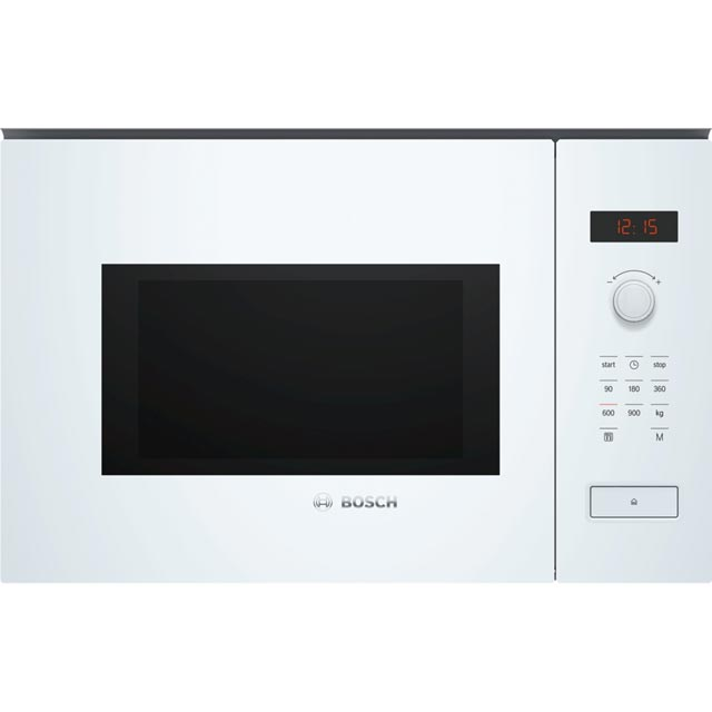Bosch Serie 4 Built In Microwave - White