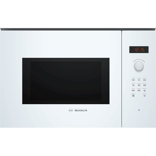 Bosch Serie 4 BFL553MW0B Built In Microwave - White - BFL553MW0B_WH - 1
