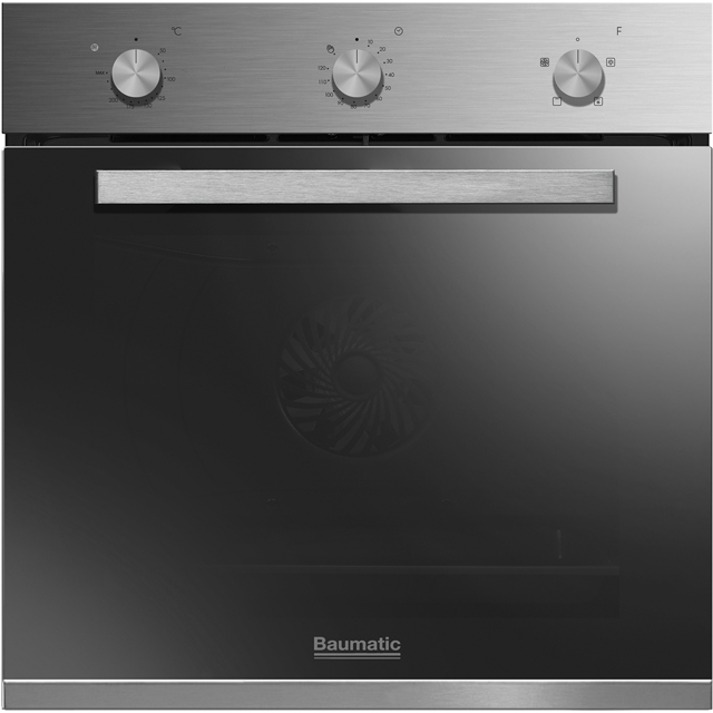Baumatic BGPK600X Built In Single Ovens & Gas Hobs - Stainless Steel - BGPK600X_SS - 2