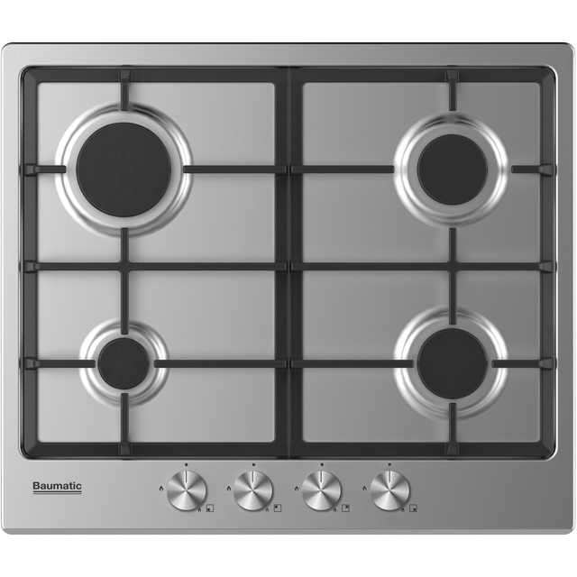 Baumatic BGPK600X Built In Single Ovens & Gas Hobs - Stainless Steel - BGPK600X_SS - 3
