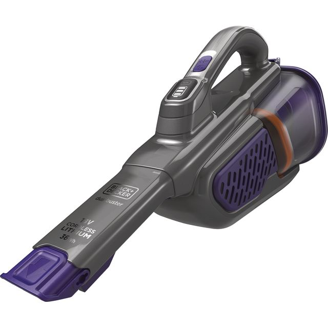 Black + Decker 18v Extension Pet Stick BHHV520BFP-GB Handheld Vacuum Cleaner with up to 21 Minutes Run Time