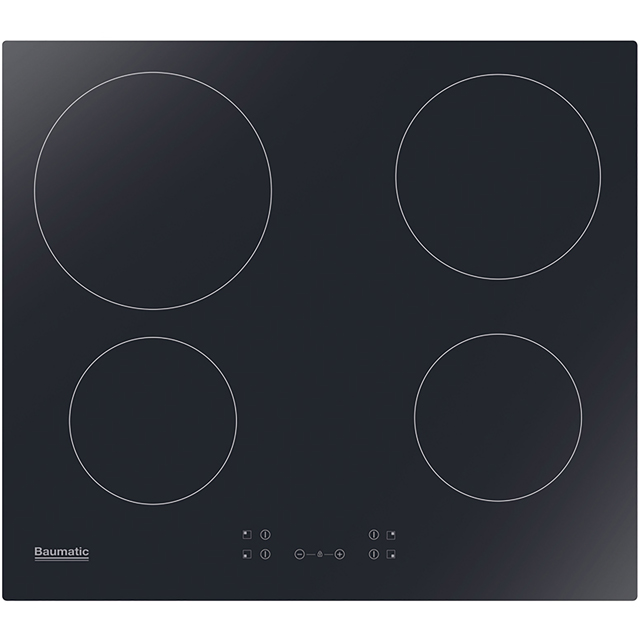 Baumatic BHIC605 Built In Ceramic Hob - Black - BHIC605_BK - 1