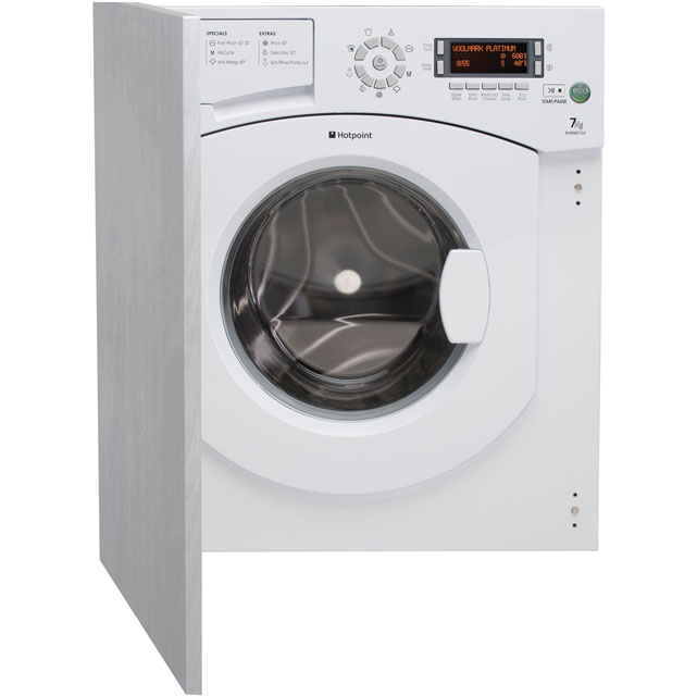 Hotpoint Ultima BHWMD732 Integrated 7Kg Washing Machine with 1300 rpm