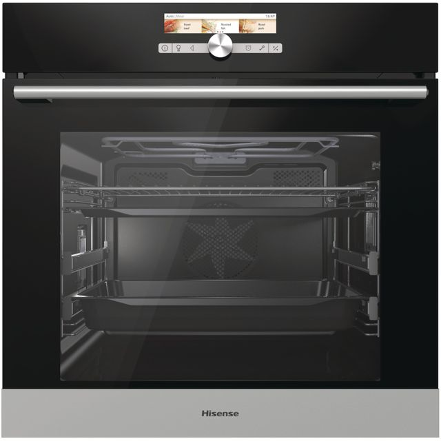 Hisense BI5543PG Built In Electric Single Oven - Stainless Steel Effect - BI5543PG_SSE - 1