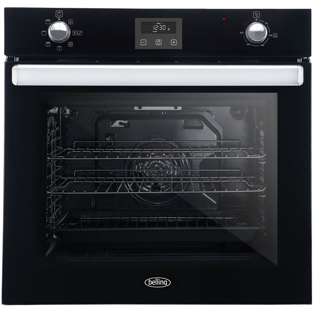 Belling BI602FP Built In Electric Single Oven - Black - BI602FP_BK - 1