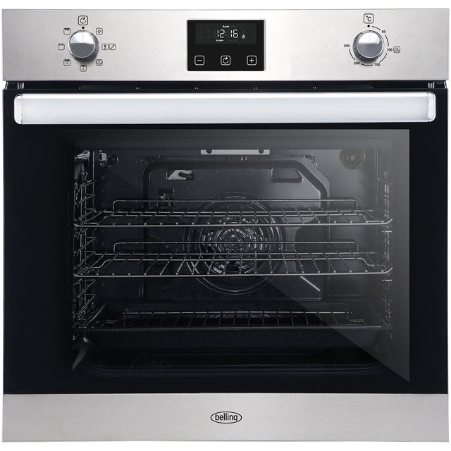 Belling BI602FP Built In Electric Single Oven - Stainless Steel - BI602FP_SS - 1