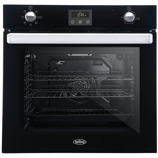 Belling BI602FPCT Built In Electric Single Oven - Black - BI602FPCT_BK - 1