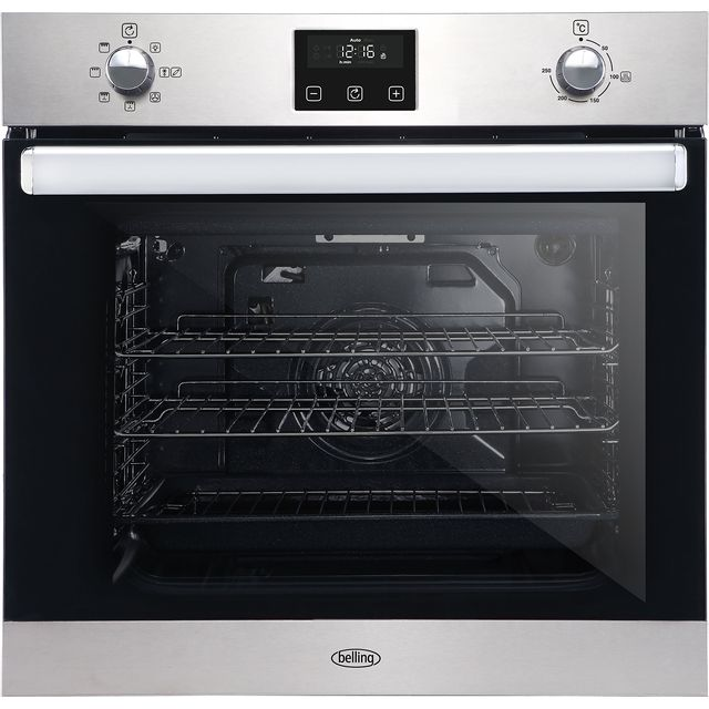 Belling BI602FPCT Built In Electric Single Oven - Stainless Steel - A Rated - BI602FPCT_SS - 1